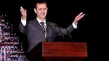 Holt in einem Interview zum Rundumschlag aus: der syrische Präsident Assad.