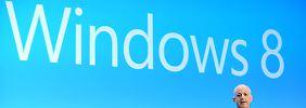 Vorstellung von Windows 8 im Oktober des vergangenen Jahres.