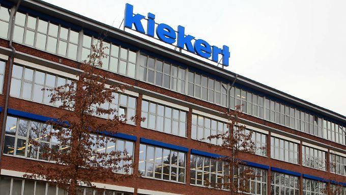 Die Zentrale des Autozulieferers Kiekert, in Heiligenhaus. Der nordrhein-westfälische Autozulieferer und Weltmarktführer von Pkw-Schließsystemen wurde im März 2012 vom börsennotierten chinesischen Automobilzulieferer Lingyun (Peking) übernommen.