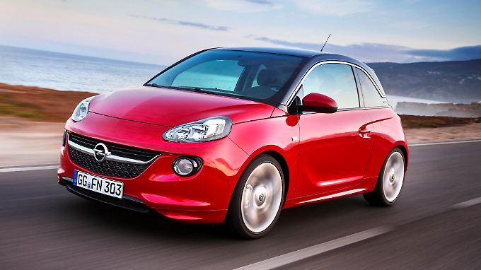 Im Opel Adam gibt es künftig ein automatisiertes Schaltgetriebe.