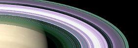 Langsames Schwinden durch Erosion: Aus Saturn-Ringen regnet es