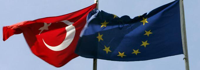 Die Visumpflicht bleibt ein Thema zwischen der EU und dem Bewerberland Türkei.