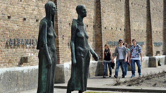 Die Gedenkstätte in Ravensbrück erinnert an das Frauen-KZ, das sich dort befand.