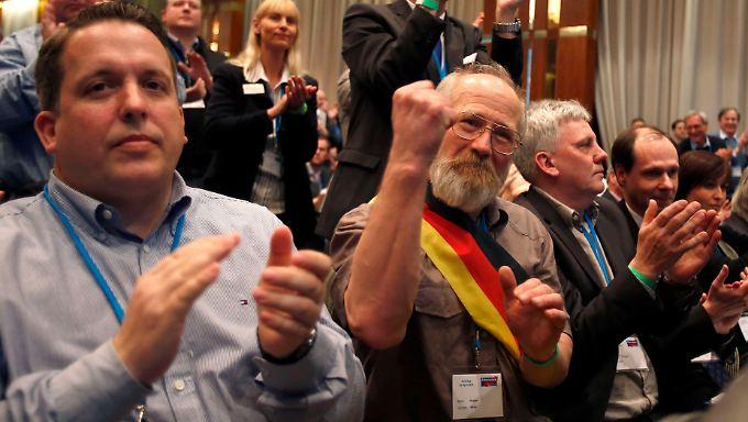 1400 AfD-Mitglieder kamen zur Gründung nach Berlin.