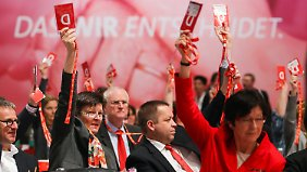 """Delegierte und Gewerkschaften voller Lob: Steinbrück hat """"viel dazu gelernt"""""""