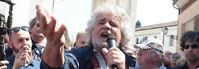 """Revolution ohne Guillotine"": Grillo will europaweites Netz"