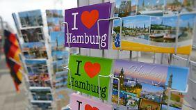 Oh, wie schön ist Hamburg - 18 Prozent aller Deutschen würden hier gerne wohnen.