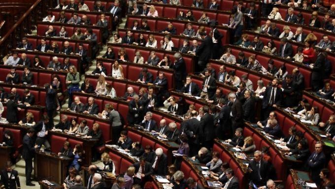 Die Mehrheit der 1007 Abgeordneten wollte Prodi nicht zum Präsidenten.