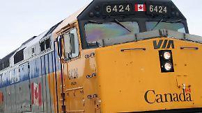 Festnahmen in Kanada: Terroranschlag auf Zug vereitelt