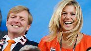 Heute ein König!: Willem-Alexander erklimmt den Thron