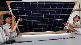 Preiskampf in der Solarindustrie: EU wirft China Dumping vor und droht