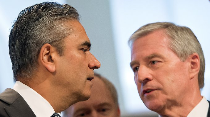 Überraschten die Märkte mit einer Kapitalerhöhung: Deutsche-Bank-Chefs Anshu Jain und Jürgen Fitschen.
