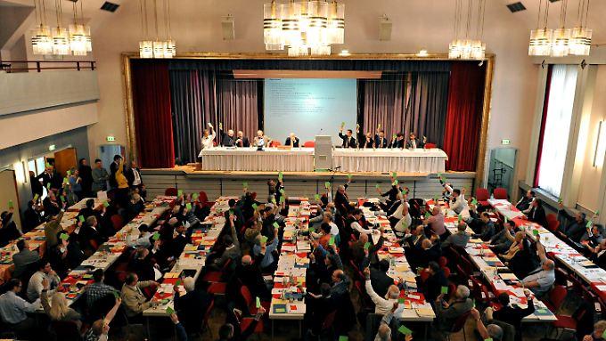 Die Alternative für Deutschland gründete sich im Februar in Berlin.