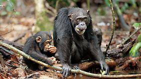 Oscar mit seiner Mutter