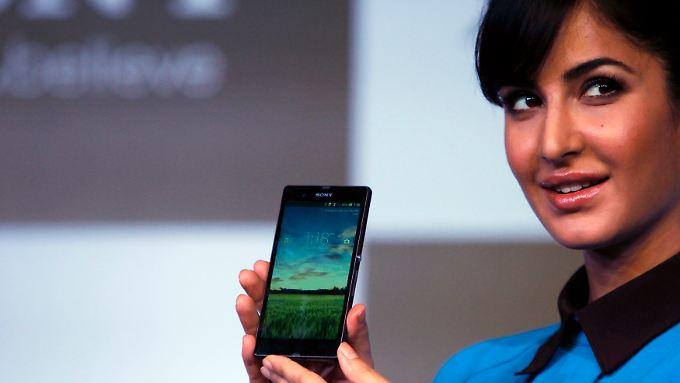 Sony versucht im Smartphone-Markt Anteile zu gewinnen.