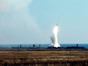 Ein Test: Auch die Ukraine verfügt über S-300-Systeme.