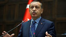 Assads erbitterter Gegner: Recep Tayyip Erdogan.