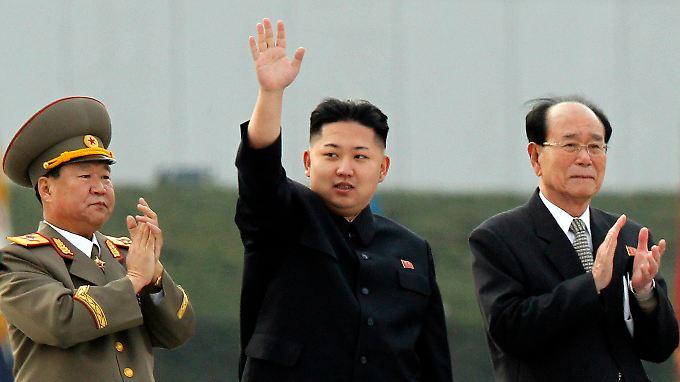 Sendet Entspannungssignale: Kim Jong Un.