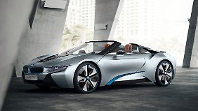Branchenprimus zeigt's allen: BMW will mit i3 und i8 klares Signal senden