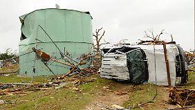 Schneise der Zerstörung: Tornados wüten in den USA