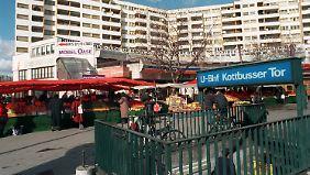 Das Kottbusser Tor in Berlin ist besonders beliebt bei Dealern und Konsumenten.