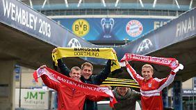 Champions-League-Finale 2013: BVB oder Bayern - wer triumphiert in Wembley?
