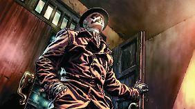 """Ausschnitt aus """"Rorschach"""" aus der Serie """"Before Watchmen"""", erschienen bei Panini."""