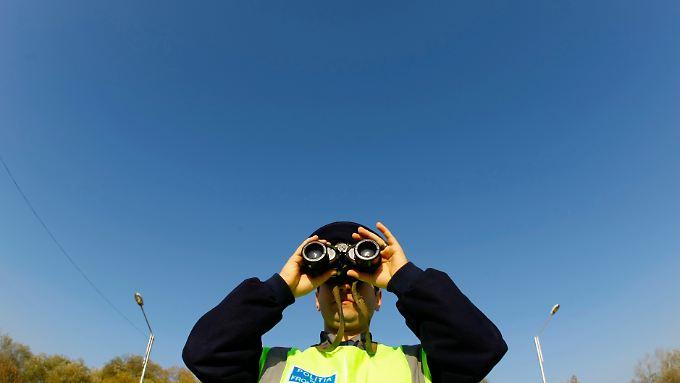 Drohnen sollen die Überwachung der Grenzen effektiver machen.
