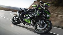Eine Kawasaki, mit der nicht zu spaßen ist?: Z 800 ist bereit zum Angriff