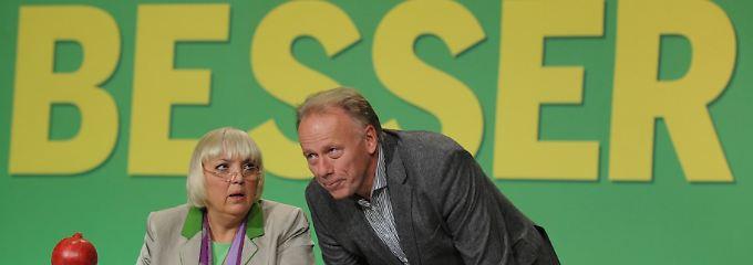 War was? Die Grünen-Spitze würde die Pädophilie-Debatte gern beiseite schieben.