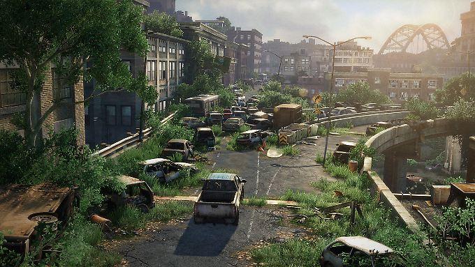 Die Städte - hier Pittsburgh - werden überwuchert.