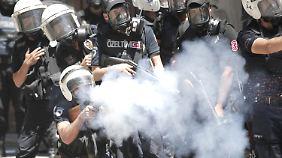Protestwelle nach Parkräumung: Unmut über Erdogan führt zu Straßenschlachten