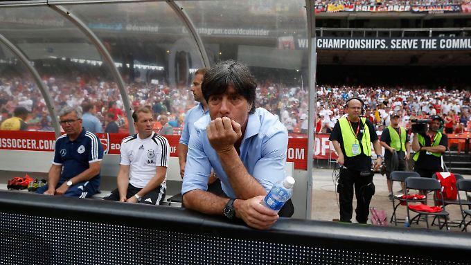 Joachim Löw sah viel Stückwerk von seinem Team.
