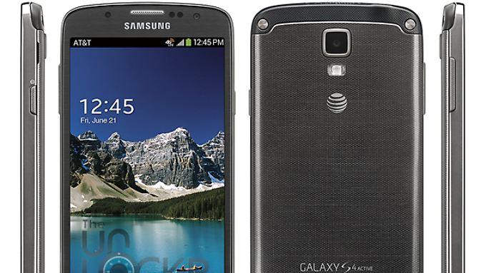 Das Galaxy S4 Active kommt vermutlich noch im Sommer auf den Markt.