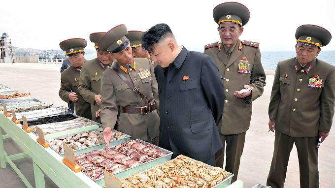 Es gibt Anzeichen, dass sich die Staatsführung in Nordkorea mit de