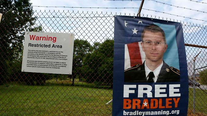 Für Manning macht sich eine Unterstützerbewegung stark.