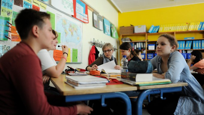 Englisch an der Anne-Frank-Schule in Bargteheide.