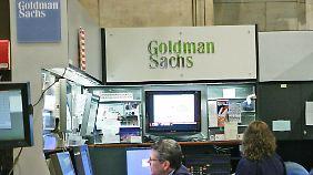 Vergleichsweise geringe Strafe: Goldman Sachs zahlt 550 Mio. Dollar