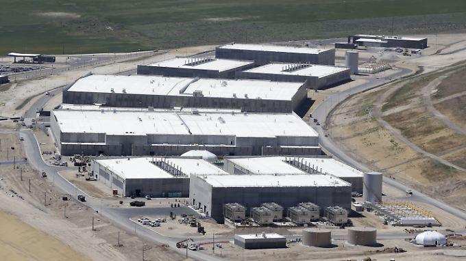 Luftbild der Datenzentrums der NSA. In diesem Server-Komplex sollen die gesammelten Daten ausgewertet worden sein.