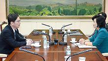 Im Grenzort Panmunjom wurde vor 60 Jahren auch das Waffenstillstandsabkommen im Koreakrieg abgeschlossen.