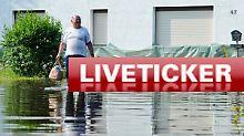 Hochwasser-Liveticker vom Mittwoch: +++ 23:50 Milliarden-Hilfspaket im Gespräch +++