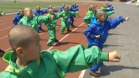 Nachwuchs für den Diktator: Wie Nordkoreas Kinder militärisch gedrillt werden