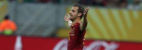 Roberto Soldado erzielt den Treffer zum 2:0.