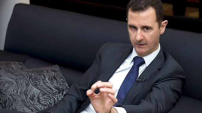 Assad sieht sich als Wahrer der Stabilität.