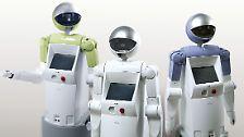 Wenn Maschinen übernehmen: Der Roboter, dein Freund und Helfer