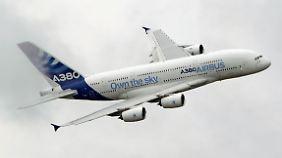 Mit der Luftfahrt-Tochter Airbus fährt EADS zwei Drittel seines Umsatzes ein.