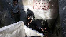 Seit mehr als zwei Jahren wütet der Bürgerkrieg in Syrien.