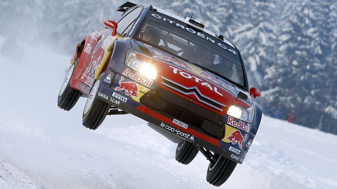 Solche Stunts werden ab der kommenden Saison eher schwierig: Rallye-Weltmeister Loeb startet in der WTCC.