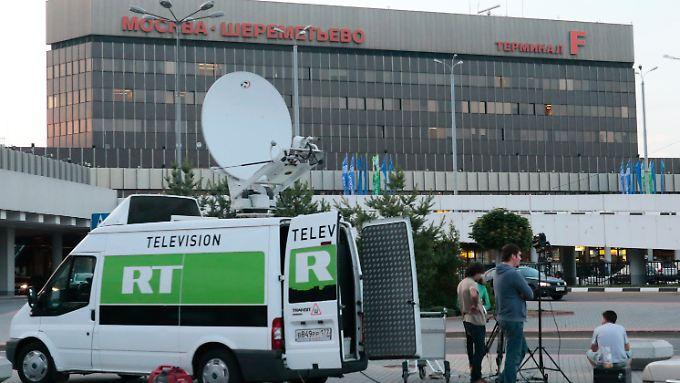 Offenbar hält sich Snowden in diesem Hotel im Transitbereich des Moskauer Flughafens Scheremetjewo auf.