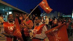 Streiks in Portugal: Hunderttausende demonstrieren gegen Sparpolitik
